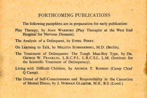 Forthcoming Publications